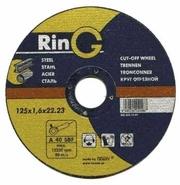 125 х 1.2 х 22.23. Отрезной круг (диск) для металла. RinG (РинГ). Качество.
