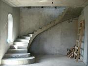 Лестницы монолитные железобетонные по индивидуальному заказу