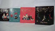 Большое разнообразие новогодних открыток