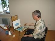 Преподаватель курсов живописи,  фотографии