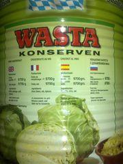 Продам немецкой,  квашенной капусты(консервированная жб)2 банки по 10к