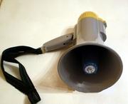 Мегафон переносной RD 8,  рупор,  гучномовець со съёмным микрофоном,  гро