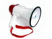Мегафон переносной 1002,  рупор,  гучномовець со съёмным микрофоном,  гро
