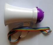 HW-1R  ручной мегафон,  громкоговоритель на аккумуляторе,  рупор перенос