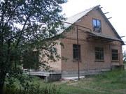 Продам дом 10х10 (с.Вольное) без внутренних работ,  без посредников.