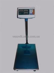 Электронные товарные весы 150 кг. на аккумуляторе.