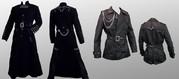Пальто и куртка в готическом стиле