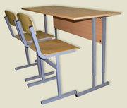 Школьная мебель с регулировкой высоты,  школьные доски