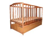 Продам детскую кроватку с нижним ящиком + матрас и балдахин