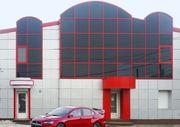 облицовка фасадов изготовление торговых павильонов