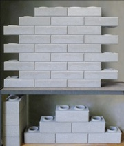 Гидравлический пресс для производства кирпича Lego