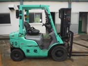 2 тонный дизельный автопогрузчик Mitsubishi KFD20T-KF18C
