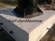 Фундамент водонапорной башни,  устройство по всей Украине