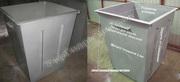 Мусорные контейнеры изготовление,  доставка мусорных баков ТБО вся Укра