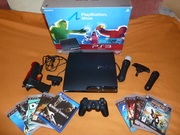 PlayStation 3 mini 320gb+Руль