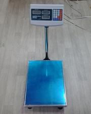Купить электронные торговые весы на 150 кг.,  300 кг.
