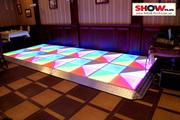 Аренда LED-танцпола (светодиодного танцпола)