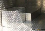 алюминиевый лист рифленый марки АД0,  АМг