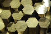 шестигранник латунный ЛС-59 №22, 24, 27, 32