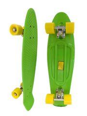 Скейт Longboard Penny 28 зеленый с желтыми колесами