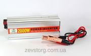 Преобразователь,  инвертор,  12v-220v,  2000W AC/DC (HAD)