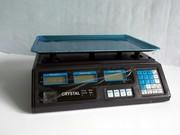 Весы Staropera на 40 кг.,  электронные торговые с калькулятором на акку
