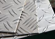 Алюминиевый лист,  рифленый,  квинтет,  гладкий. Опт / розница.