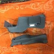 боковой пластик багажника на Renault Laguna 2,  Рено Лагуна 2, лифтбэк.