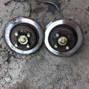 Б/у задние тормозные диски Renault Scenic 1,  Рено Сценик 1