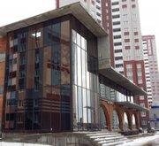 Остекление фасадов зданий,  фасадное остекление.